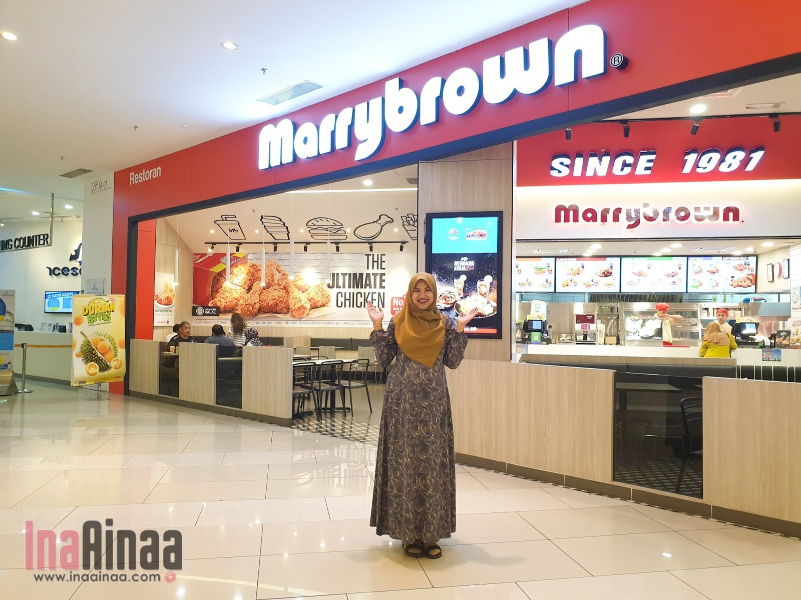 SET RENDANG MARRYBROWN - Hak Milik Ina Ainaa
