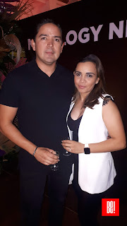 Alfonso y Nadia Aguilar.