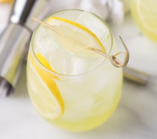 LIMONCELLO VODKA COOLER #drinks #cocktails