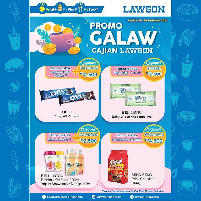#Lawson - #Promo GALAW Gajian Lawson Periode 25 - 30 Sept 2019