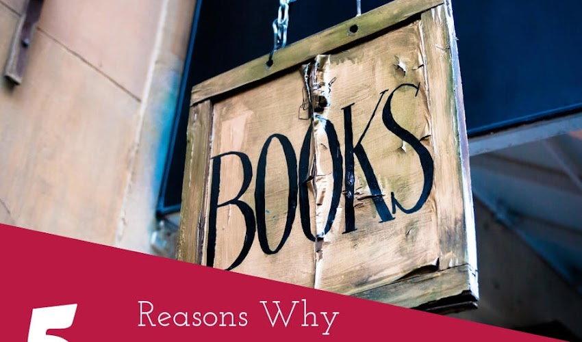 Five Reasons Why Books Make the Best Gifts