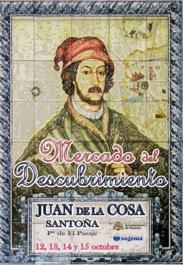 Mercado del descubrimiento Juan de la Cosa en Santoña