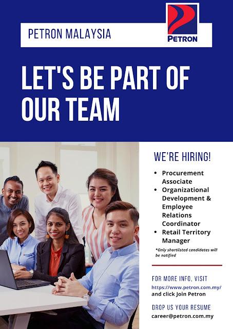 Petron Malaysia vacancies