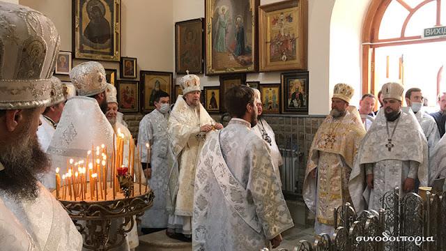 Στη Συμφερούπολη της Κριμαίας τίμησαν την μνήμη του Αγίου Λουκά