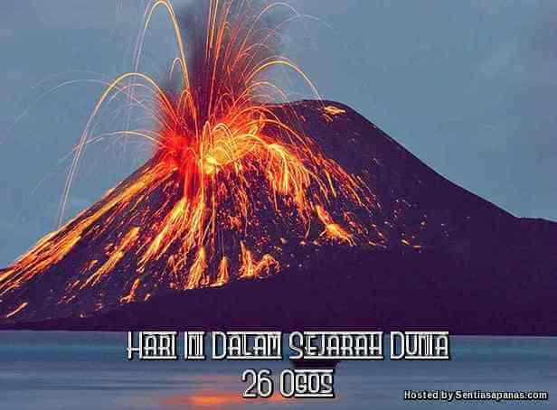 Gunung berapi Krakatau