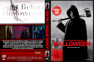 LA NOCHE ANTERIOR A HALLOWEN - The Night Before Halloween dvd 2016 ...