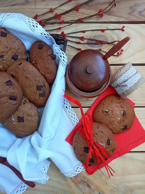 Galletas De Aceite De Oliva Virgen Extra (aove) Con Chips De Chocolate