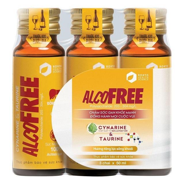 Dùng Nước Giải Rượu AlcoFree Thế Nào Cho Hiệu Quả?
