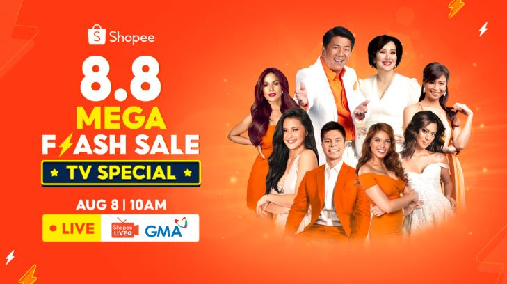 4 things to expect at Shopee 8.8 Mega Flash Sale TV Special