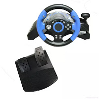 Steering Wheel 5in1 ps1/ps2/ps3/pc