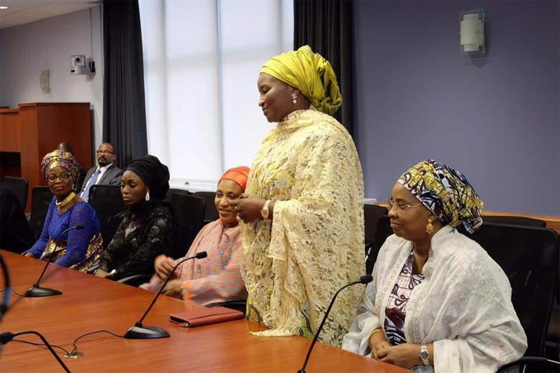 Aisha Buhari appears on Voice Of America interview