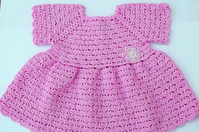 4 -Crochet Imagen Falda para bolero y canesú a crochet muy fácil y sencillo