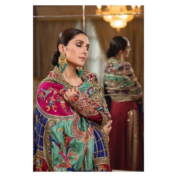 Ayeza Khan Looking Ethereal in Latest Colorful Photoshoot