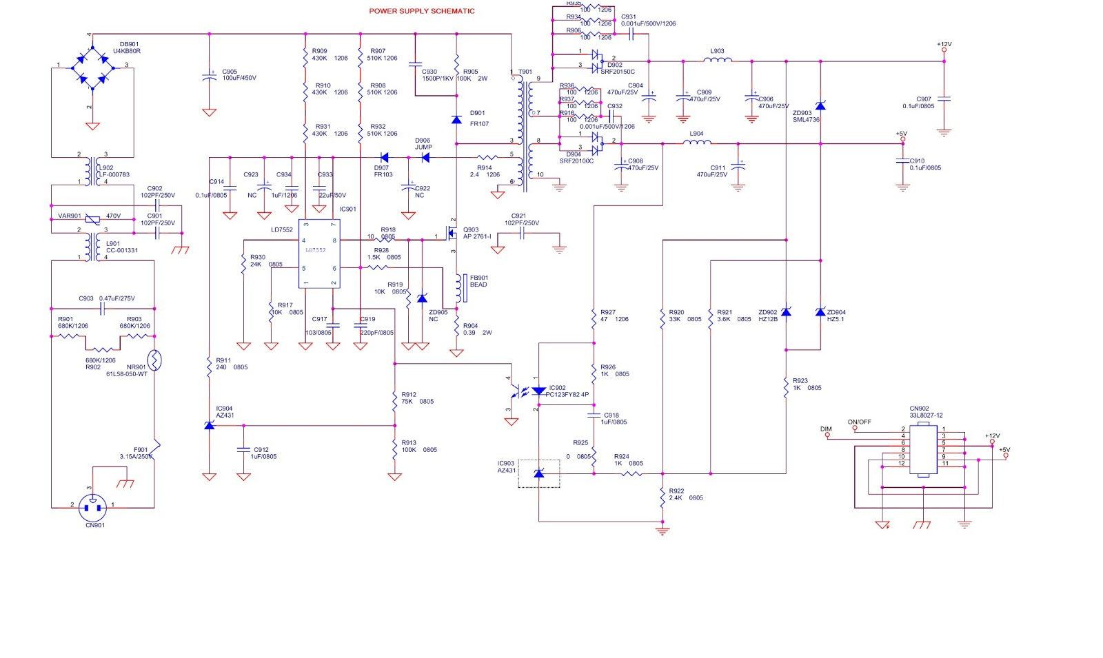 small resolution of tv schematic circuit diagram further hp power supply pinout further wiring diagram as well pump alternating relay diagram further fiat
