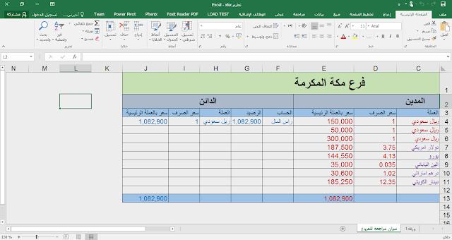 دورة شرح برنامج xtra للمحاسبة والمستودعات- ميزان مراجعة الجزء 2 -24