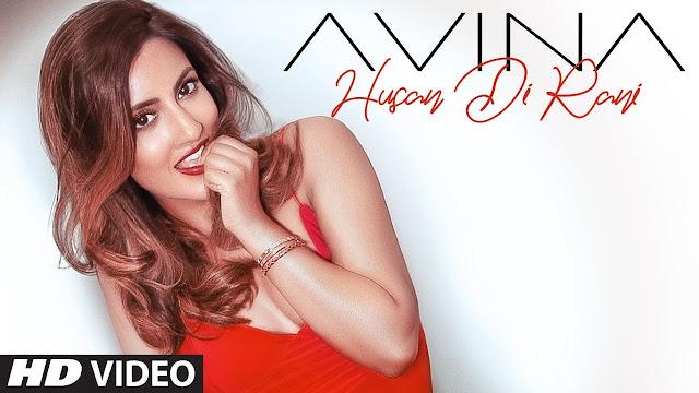 Husan Di Rani Lyrics In Hindi & English   Avina Shah   Zain Khan
