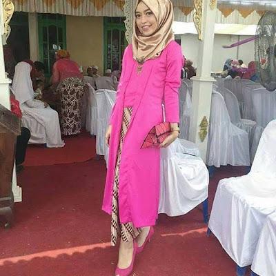 Kebaya Batik Muslim Baloteli Panjang