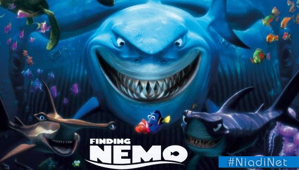 Finding Nemo (2003) Fixar Movie Wallpapers, film animasi terbaru terbaik terpopuler sepanjang sejarah myanimelist