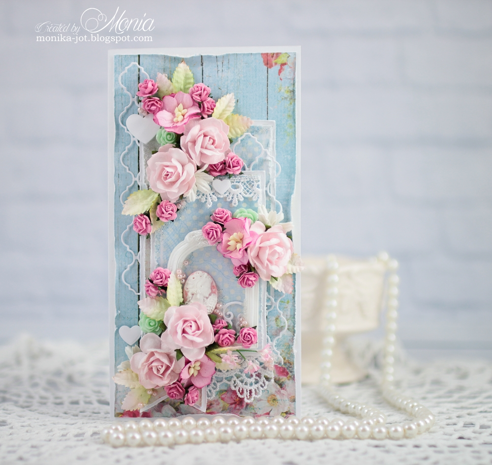 Wild Orchid Crafts: Romantic Birthday Card