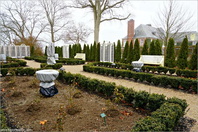 Jardín de la Mansión Rosecliff, Newport