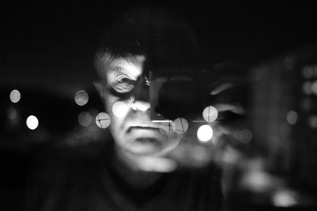 reflet dans une vitre