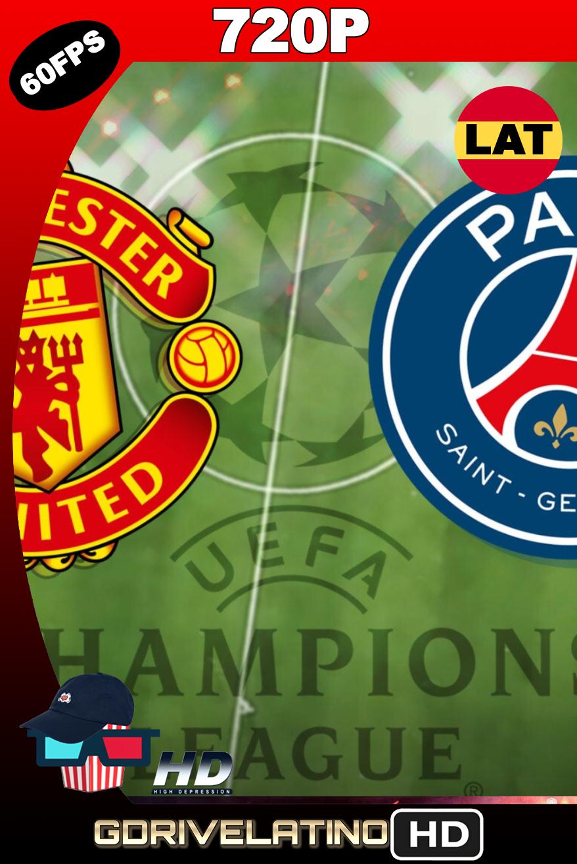 Manchester United vs PSG (2020) UCL WEB-DL FULL 720p (60 FPS) Latino MKV