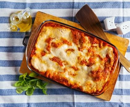 Thermomix Vegetarian Lasagna