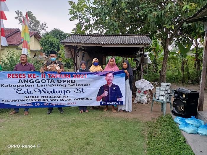 Edi Waluyo Reses di 3 Kecamatan