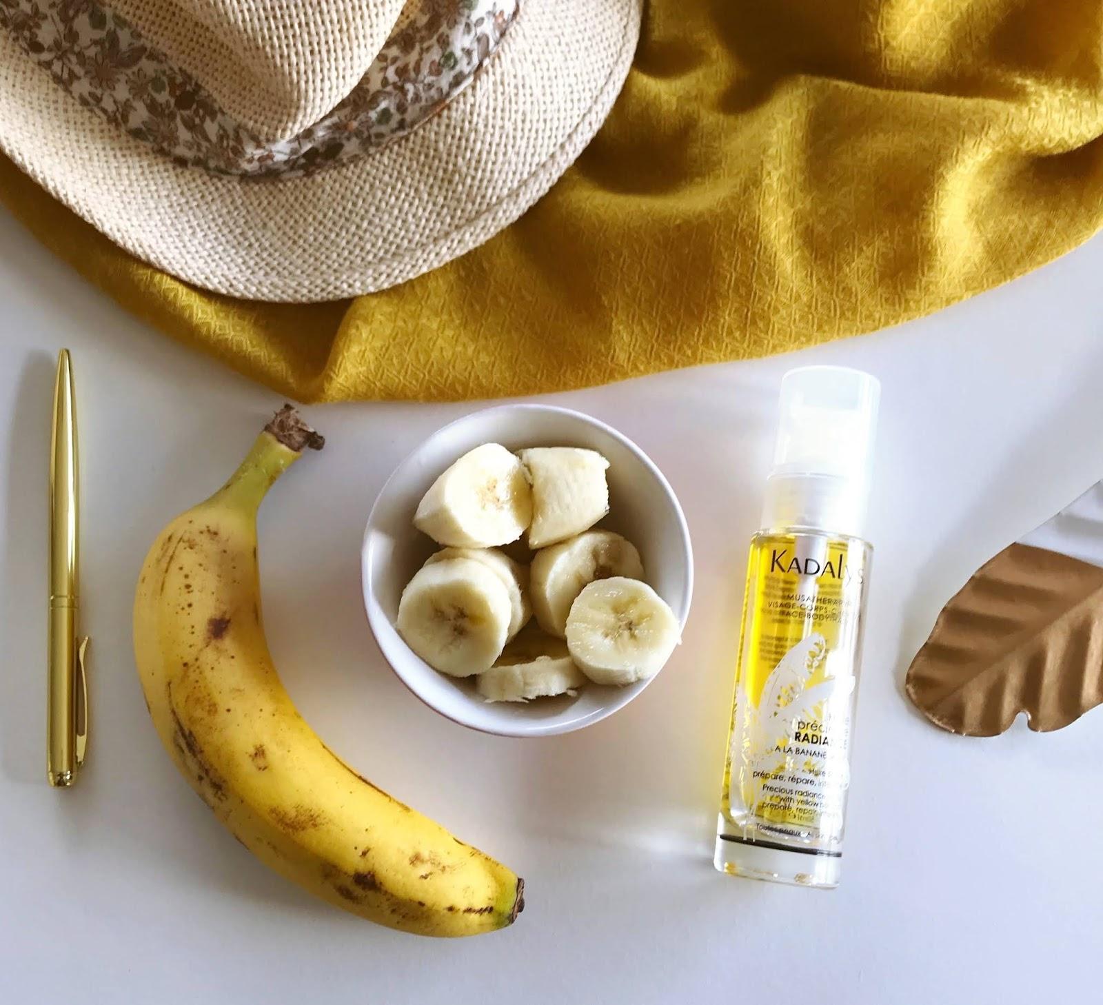 Kadalys l'huile précieuse radiance banane jaune