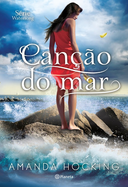 """News: Capa do livro """"Cancao do Mar"""", de Amanda Hocking 7"""