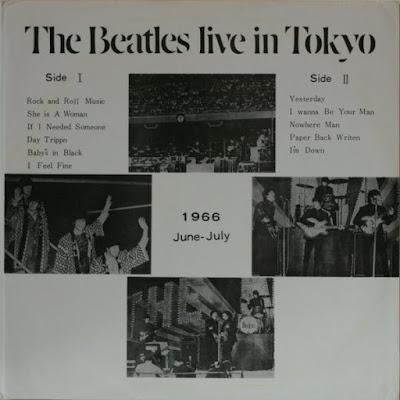 The Beatles Live At Budokan Tokyo Japan 30-06-1966