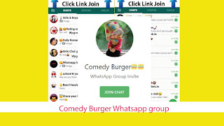 Comedy Burger Whatsapp group link