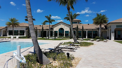 Toscana Isles Venice FL club house and pool