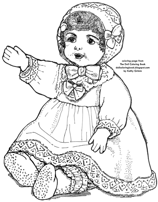 08 31 17 the doll coloring book 60 Inch Kitchen color this waving toddler doll
