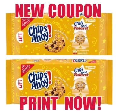 CHIPS AHOY! coupon print here