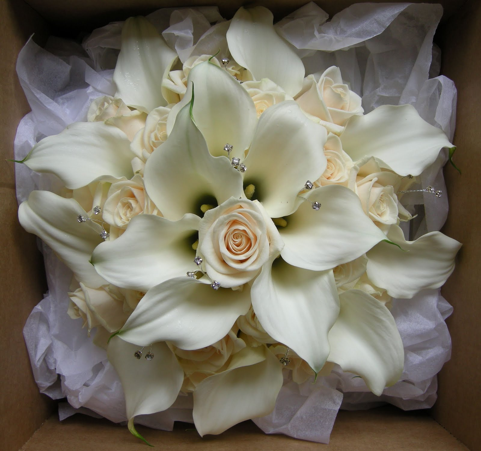 Lily Flower Wedding Bouquet: Wedding Flowers Blog: Kelly's Wedding Flowers,Princess