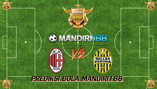 AGEN BOLA - Prediksi AC Milan vs Hellas Verona 14 Desember 2017