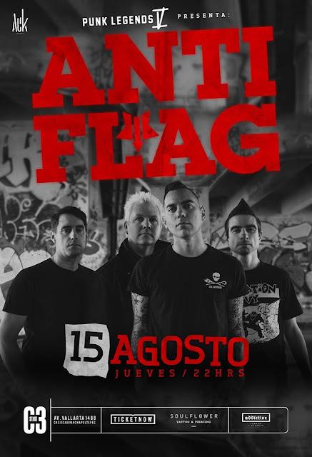 Anti-Flag Un mundo sin guerra