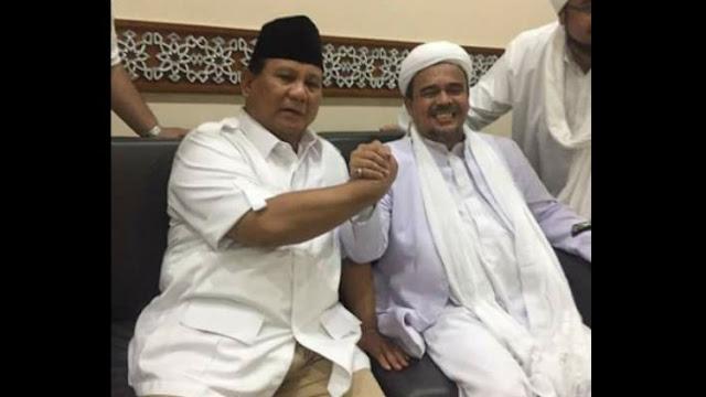 Habib Rizieq Ulama, Gerindra Pertimbangkan Bentuk Koalisi Permanen 212