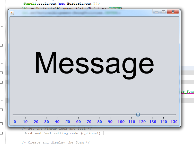 Java - Change JLabel Font Size - C#, JAVA,PHP, Programming