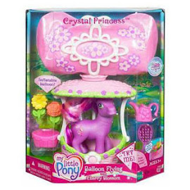 MLP Cherry Blossom Balloon Flying  G3 Pony