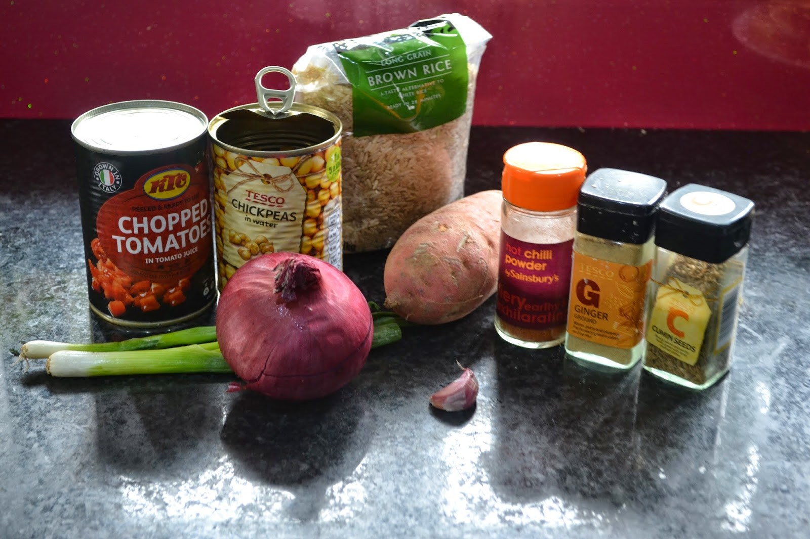 Sweet Potato And Chickpea Curry Healthy Recipe Uk