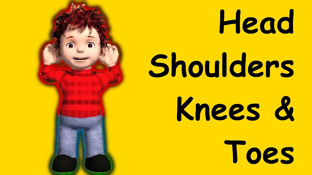 HEAD SHOULDERS KNEES AND TOES LYRICS