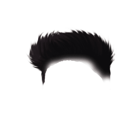 Simple Hair Style PNG For Picsart Free Stock [ Download Now ]