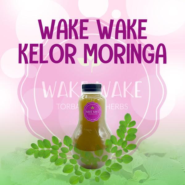 Wake Wake Mix Moringa, Booster ASI Perpaduan Daun Bangun Bangun dan Daun Kelor