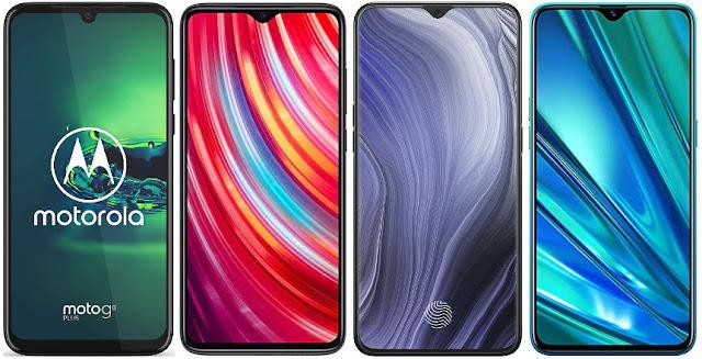 Motorola Moto G8 Plus vs Xiaomi Redmi Note 8 Pro vs Oppo Reno Z vs Realme 5 Pro