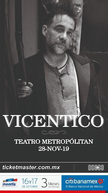 Vicentico en el Teatro Metropólitan
