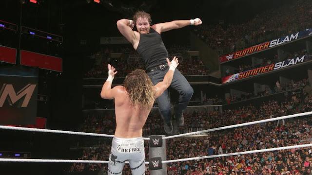 Dean Ambrose a conservé le Championnat du Monde de la WWE
