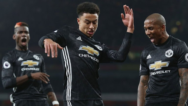Arsenal 1-3 Manchester United: Lingard scores twice as Pogba sees red [Match highlights]