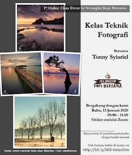 Kelas Teknik Fotografi Bersama Tonny Syiariel